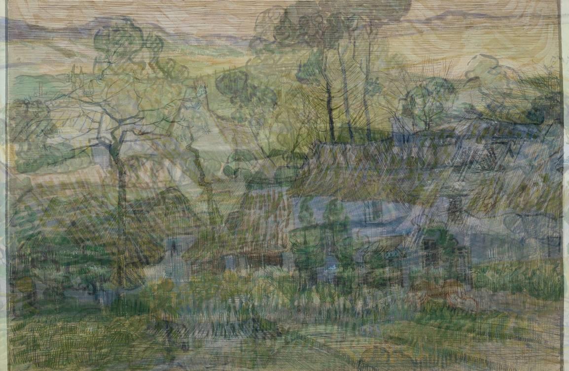 The averaged works of Vincent van Gogh
